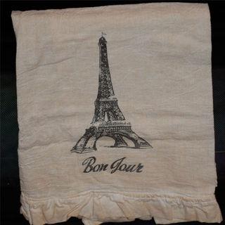 Bonjour towel