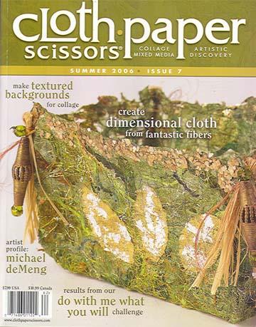 Cloth Paper Scissors, Summer 2006
